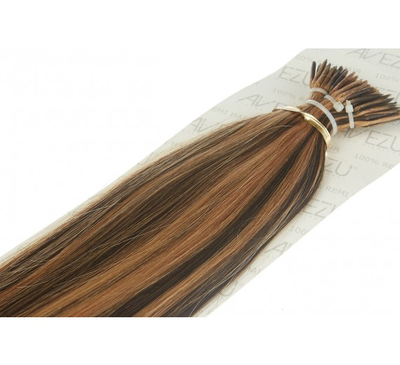 Cold Fusion extensions - Micro bonds - 20 totter Stick hair - 1 gram - Vælg farver