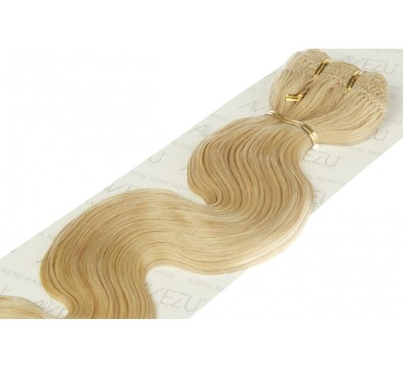 Trense hår extensions 60 gram pr pakke - Body wave