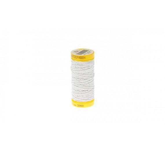 Elastik rulle til flettemetoden hairextensions - sytråd til påsætning af flettemetoden - Lys