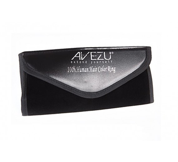 Avezu - farvering til hair extension - hårextension - cold fusion - hot fusion - clips on hair - trense - tape on hair - frisørtaske