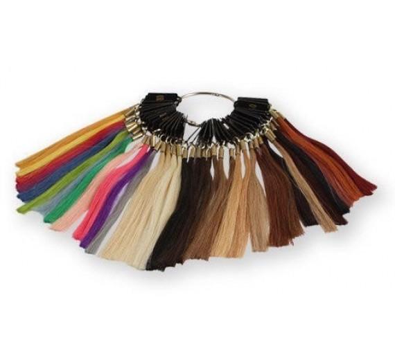 Farvering til hårextensions