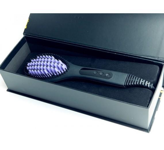 Glattebørste - Elektrisk glattebørste - Straightening brush - straight brush