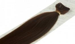 Tape on hair extensions - 60 gram pr. pakke 4# Chokolade