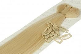 Lav selv clips on extensions - m/ 10 stk clips - 55 cm - 613# Divine