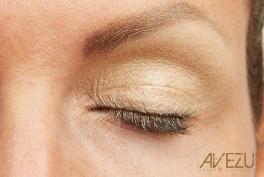 Glamour Øjenskygge - Dinair airbrush makeup - champagne