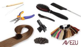 Hair extensions startpakke - Cold fusion extensions - 200 gram hår