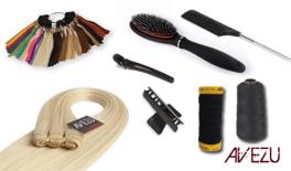 Hair extensions startpakke - Flettemetoden - 120 gram hår