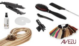 Hair extensions startpakke - Hot fusion extensions - 200 gram hår