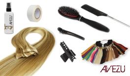 Hair extensions startpakke - Tape on extensions/ Quick and easy - 120 gram hår