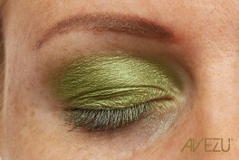 Glamour Øjenskygge - Dinair airbrush makeup - Emerald green