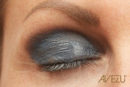 Glamour Øjenskygge - Dinair airbrush makeup - Gray frost