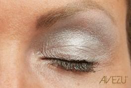 Glamour Øjenskygge - Dinair airbrush makeup - Light silver