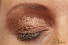 Glamour Øjenskygge - Dinair airbrush makeup - Rose gold