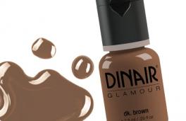 Eyeliner og Øjenbryn - Dinair airbrush makeup