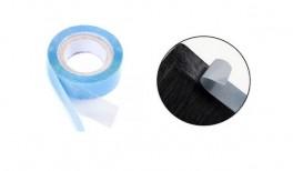 Taperulle til hair extensions - 2,7 m. - 1 cm bred - Blue