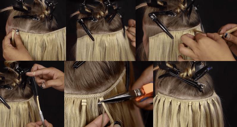 AVEZU ezy easy weft hairextensions