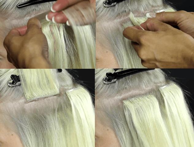 avezu hairextensions tape hår